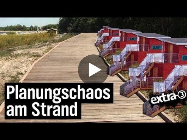Realer Irrsinn: Die Dünenpromenade in Boltenhagen (YouTube)