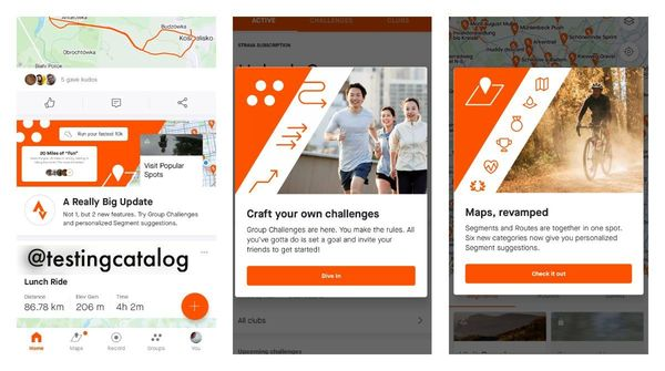 Strava users can now create free group challenges and browse personalized segments