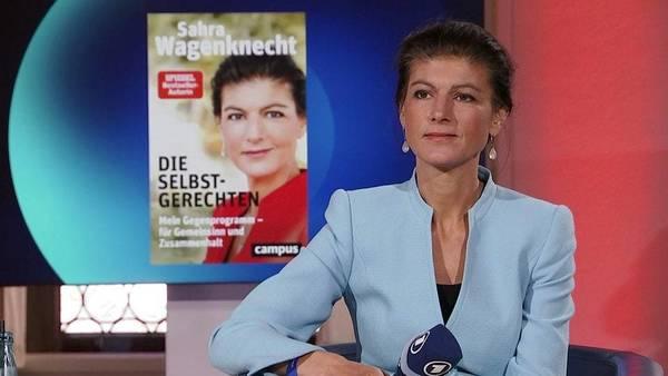Sahra Wagenknecht im ARD-Forum | MDR.DE