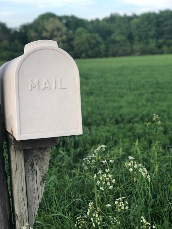 """An example of """"offline mail,"""" which is not online. (Mikaela Wiedenhoff/Unsplash)"""