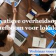 Webinar Innovatieve overheidsopdrachten