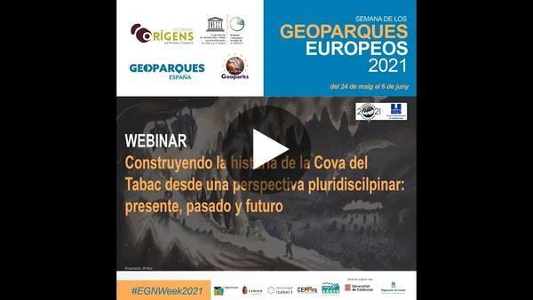 Reconstruyendo la historia geológica de la Cova del Tabac – Alfonso Benito Calvo (Centro Nacional de Investigación sobre la Evolución Humana