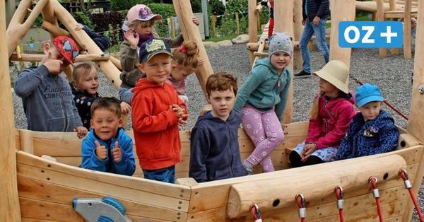 Rügen: So schön ist der neue Spielplatz in Baabe