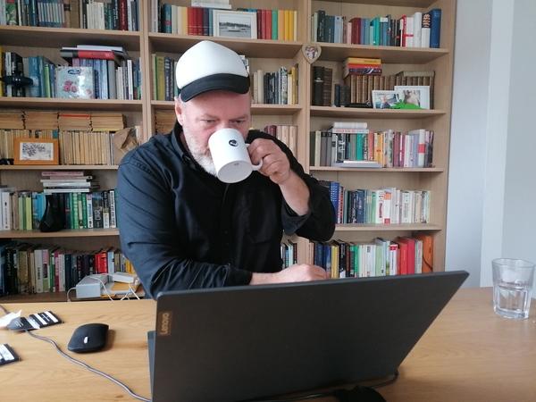 Stephan Boden an seinem Schreibtisch. (Foto: privat)