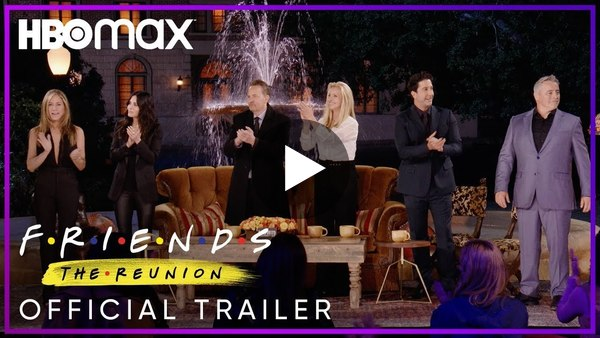 Friends: The Reunion   Trailer oficial VO - Vídeo Dailymotion