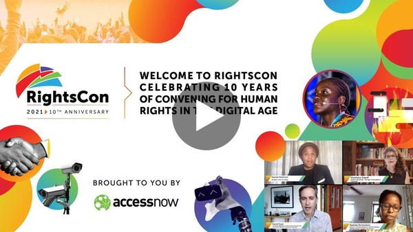 Join us online at RightsCon 2021 on June 7-11