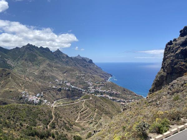 Tenerife roadside views 🏝️