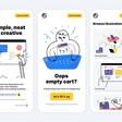 Download colorful outline simple illustrations for websites