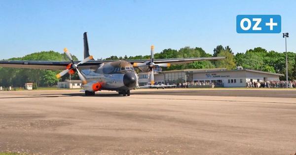 Video: Letzter Flug der Transall über Anklam und Usedom