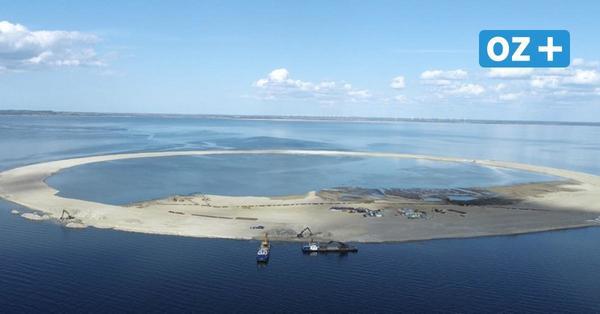 Neue Inseln im Stettiner Haff