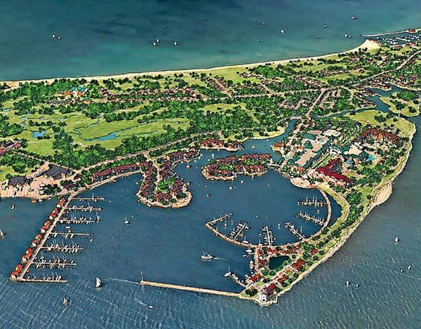 """So soll das """"Baltic Island Eco Resort"""" auf Rügen einmal aussehen"""