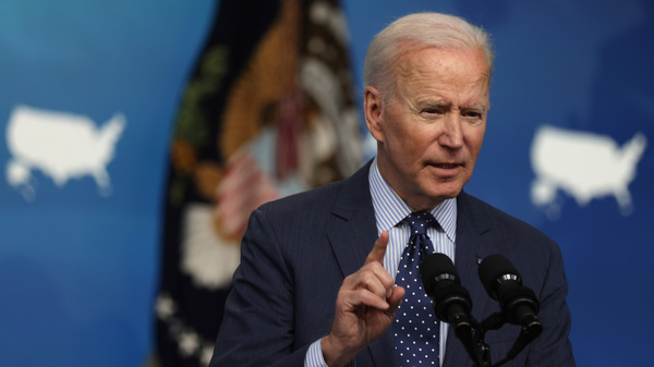 Biden And Sen. Capito Try Again To Bridge Their Infrastructure Divide : NPR