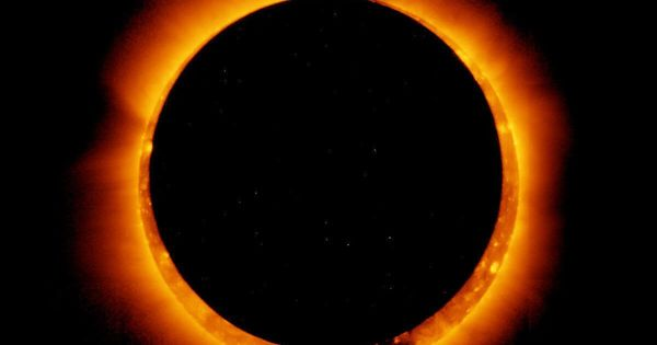 First solar eclipse of 2021 will show off a 'ring of fire' in the sky - CNET