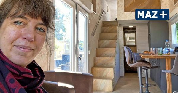 Wohnen im Tiny House: MAZ-Autorin quartierte sich ein