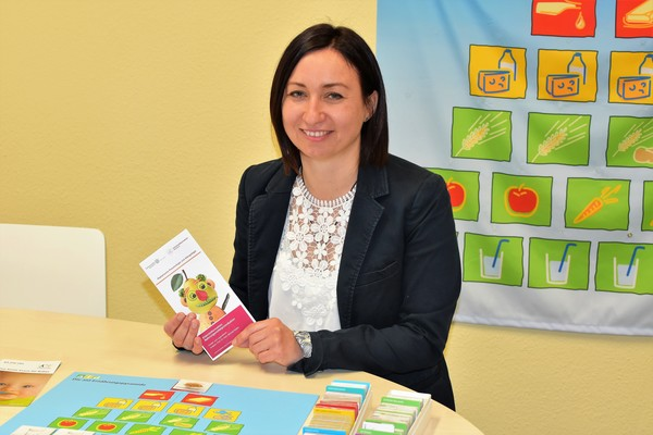 Dana Schmidt, Ernährungsberaterin an der Kinder- und Jugendklinik Rostock