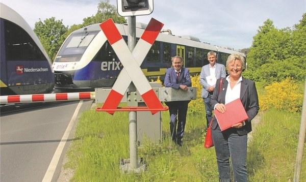 Mit der Bahn bis vor die Klinik-Haustür - Heidekreis-Klinikum - Walsroder Zeitung