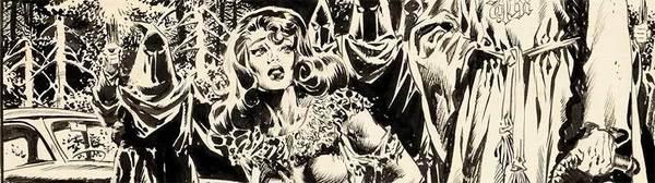 Wally Wood - Original Cover Art