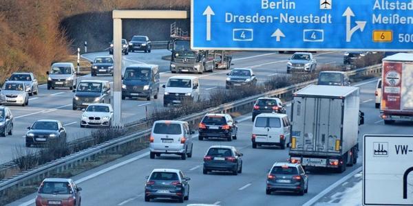 Fahrrad-Demo in Dresden gegen A 4-Ausbau