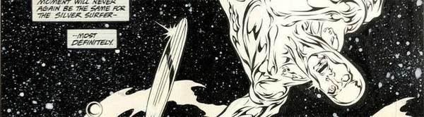Tom Grindberg - Silver Surfer Original Comic Art