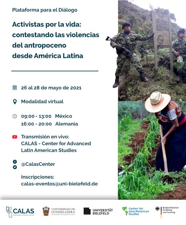 Event recording: special series on ecology and human rights. Activistas por la vida. Contestando las violencias del antropoceno desde América Latina. CALAS