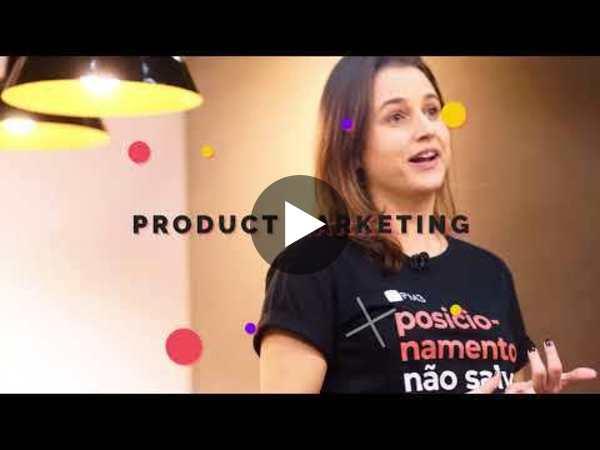Teaser das primeiras gravações do Curso de Product Marketing da PM3