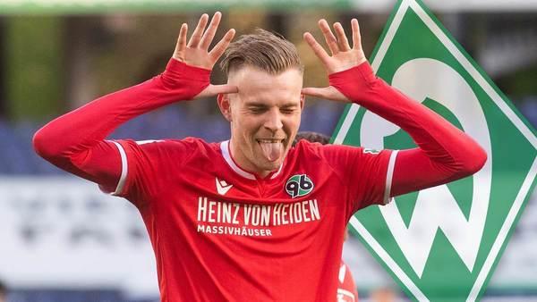Werder Bremen will 96-Topscorer Ducksch - doch der ist (noch) zu teuer
