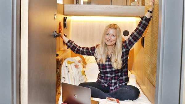 In St. Georg entsteht Deutschlands erstes Kapsel-Hotel: Enge Kiste!