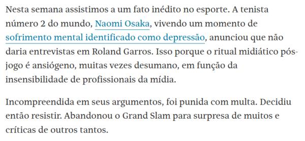 Katia Rubio/Folha de S. Paulo 05/06/21