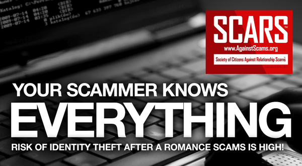 SCARS Next Steps – You Gave The Scammer Your Information?