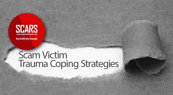 Coping Strategies for Scam Victim Trauma Survivors