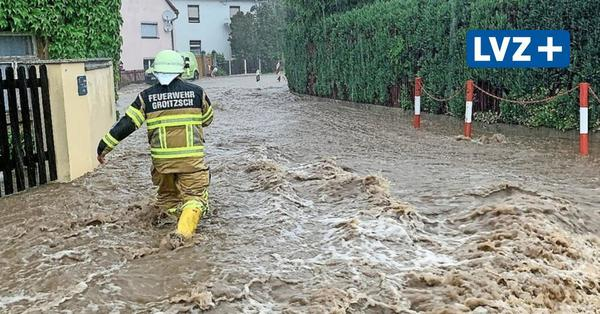 Überschwemmungen inLeipzig und Sachsen