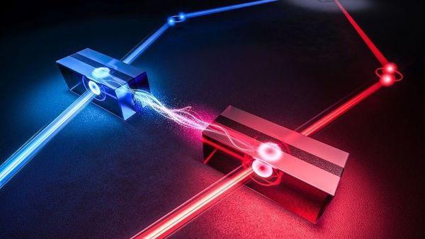Quanteninternet rückt näher: Forscher verschränken zwei räumlich getrennte Speicher miteinander