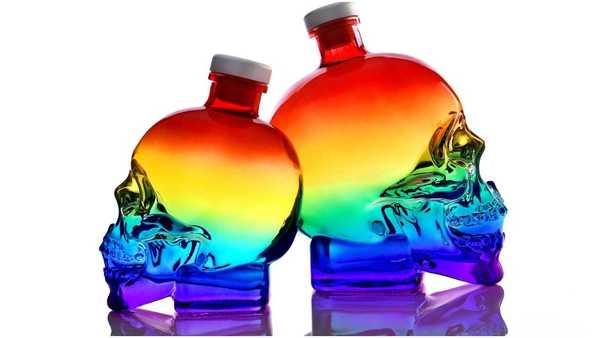 Dan Aykroyd's Crystal Head Vodka release jaw-dropping rainbow skull bottle to celebrate Pride 2021