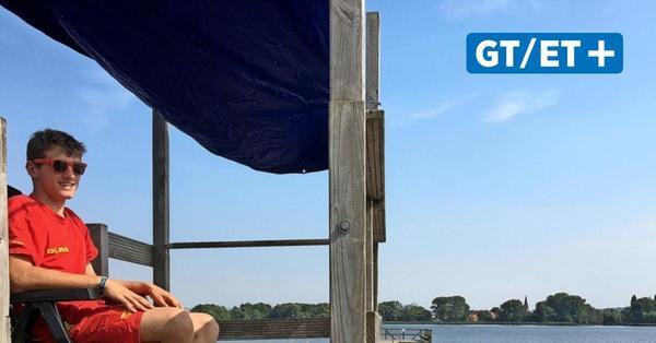 Kein Baden am See ohne DLRG? Rettungsschwimmer mahnen Corona-Trainingsrückstand bei Landrat Reuter an