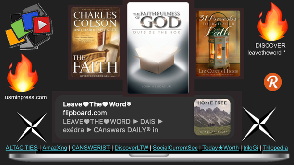 DISCOVER LEAVE♥THE♥WORD®