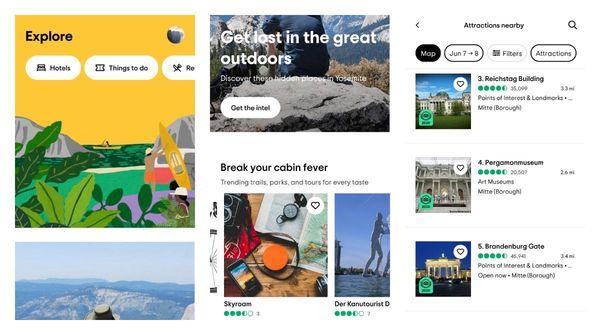 TripAdvisor got a new flat and minimalistic app design on Android