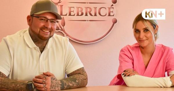 Osdorf: Marcel und Dennise Glanert eröffnen Geschäft in Osdorf