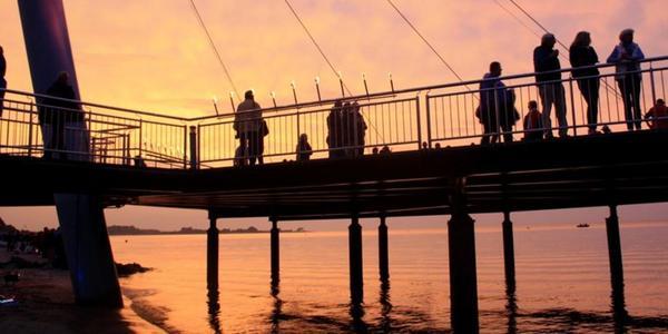 Ostsee-Strand von Hohwacht im KN-Check: Belebt und beliebt bei Urlaubern