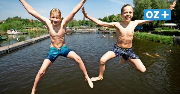 Sommer, Sonne, Sicherheitsabstand: So lief der Saisonstart im Rostocker Flussbad