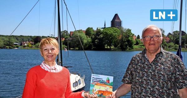 Bilderbuch für Kinder vom Camping in Römnitz am Ratzeburger See