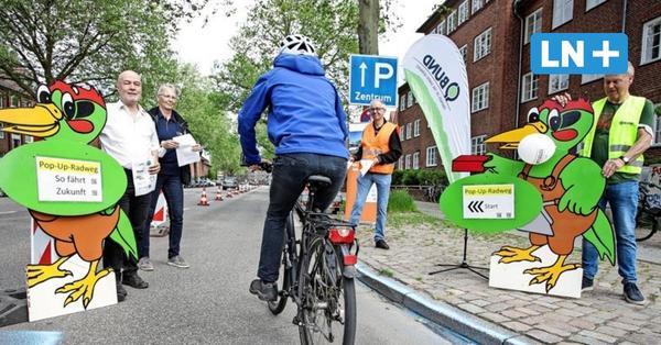 2023 will Lübeck mit dem Bau des Radschnellwegs starten