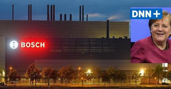Die Eröffnung des Bosch-Halbleiterwerks in Dresden mit Angela Merkel: Der Livestream zum Nachschauen