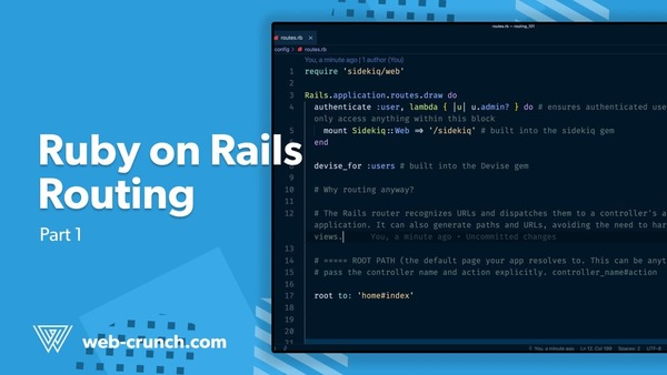 Ruby on Rails Routing - Part 1