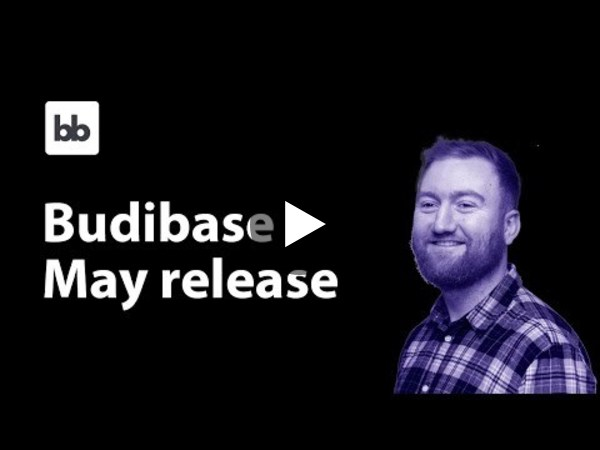Budibase Release - May 2021 (the low code platform you'll enjoy using)