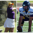 UMHB Football's Sellers, Women's Golf's Hasselbach receive ASC Scholar-Athlete Medal of Honor – True To The Cru
