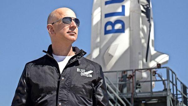 Blue Origin: Amazon-Gründer Jeff Bezos will mit seiner eigenen Rakete ins All fliegen