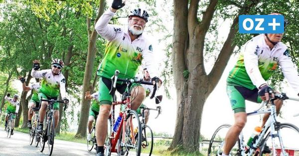 Tour d' Allée von Stralsund nach Sellin: Radler fahren durch Deutschland