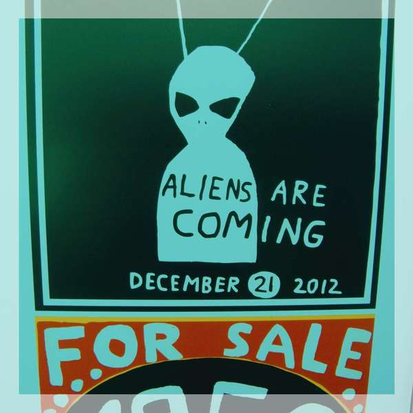Aliens Are Coming, New York City, March 2013