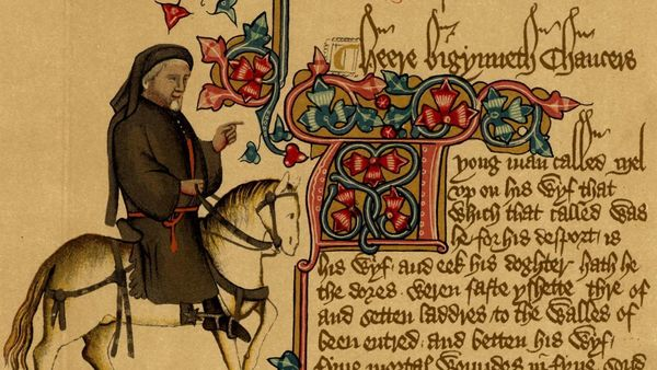 Chaucer's Canterbury Tales c. 1387-1400.
