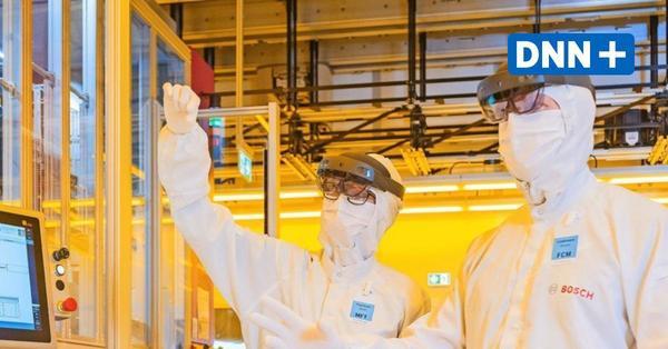 Bosch-Fabrik in Dresden: Ein Halbleiterwerk der Superlative